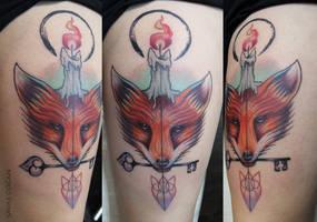 Fox Tattoo by Moviemetal3