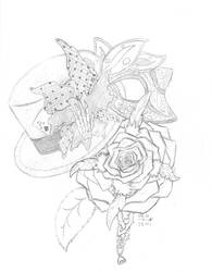 The Hat, the Rose, and the Mask