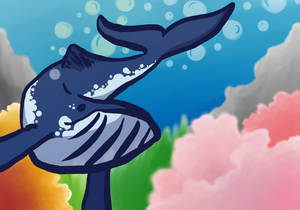 Alfonz the whale