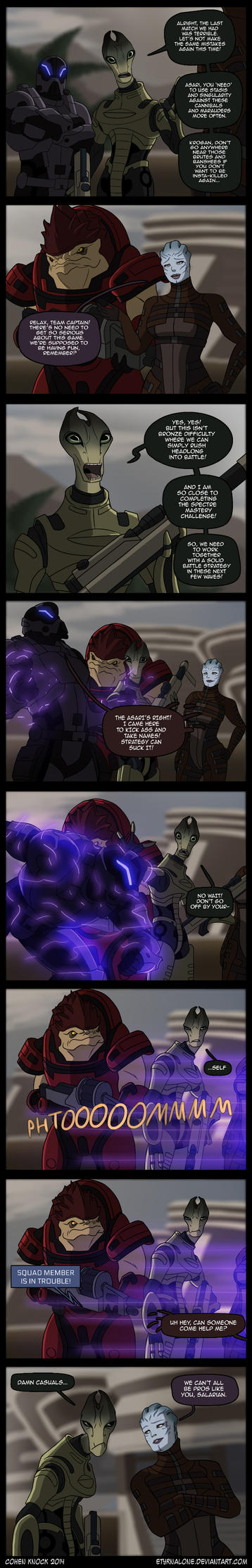 Mass Effect 3 - Strategy Can Suck It! by EtyrnalOne
