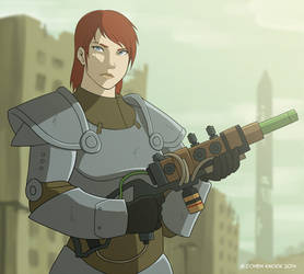 Fallout OC - Allister by EtyrnalOne