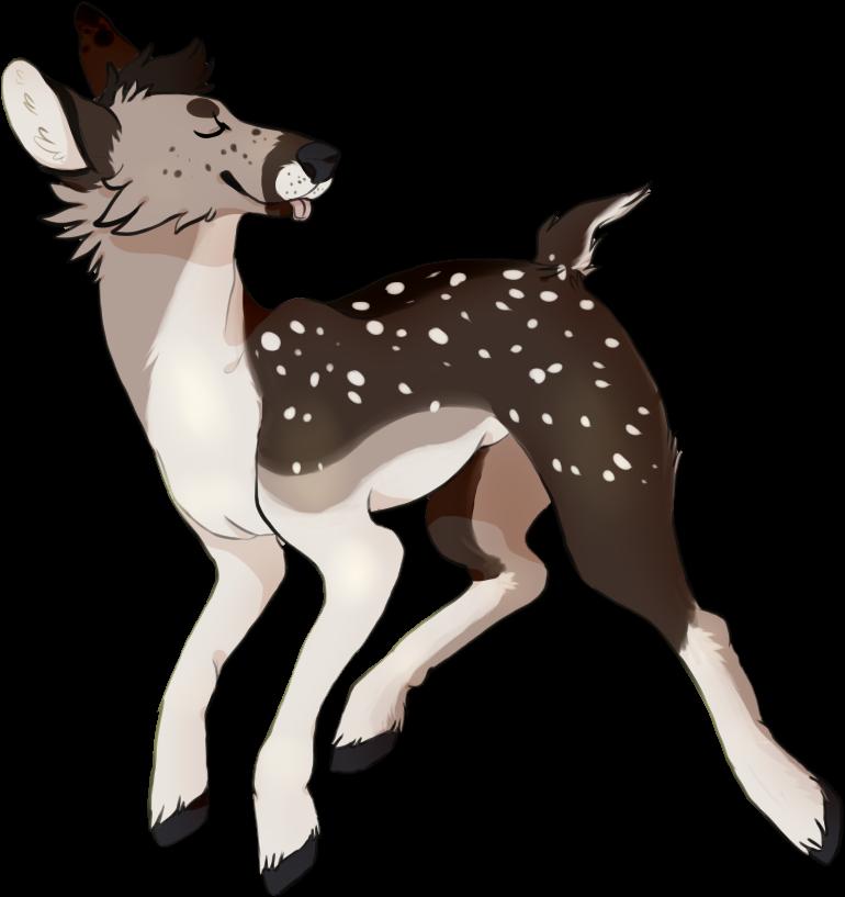 flying deer by fqs