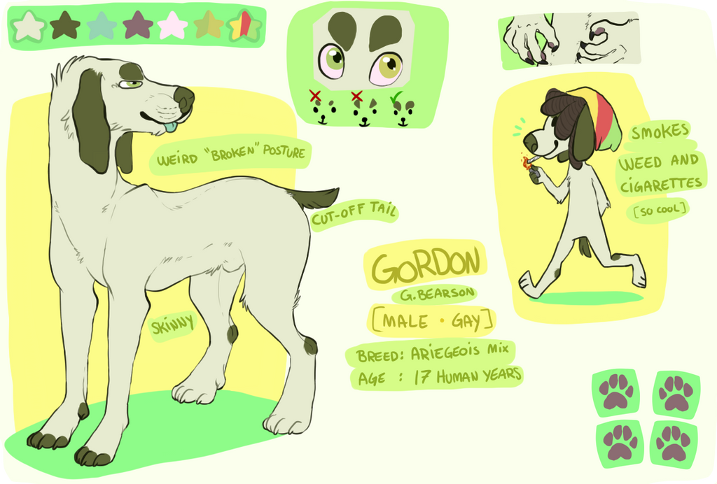 OUT-DATED Gordon ref by fqs