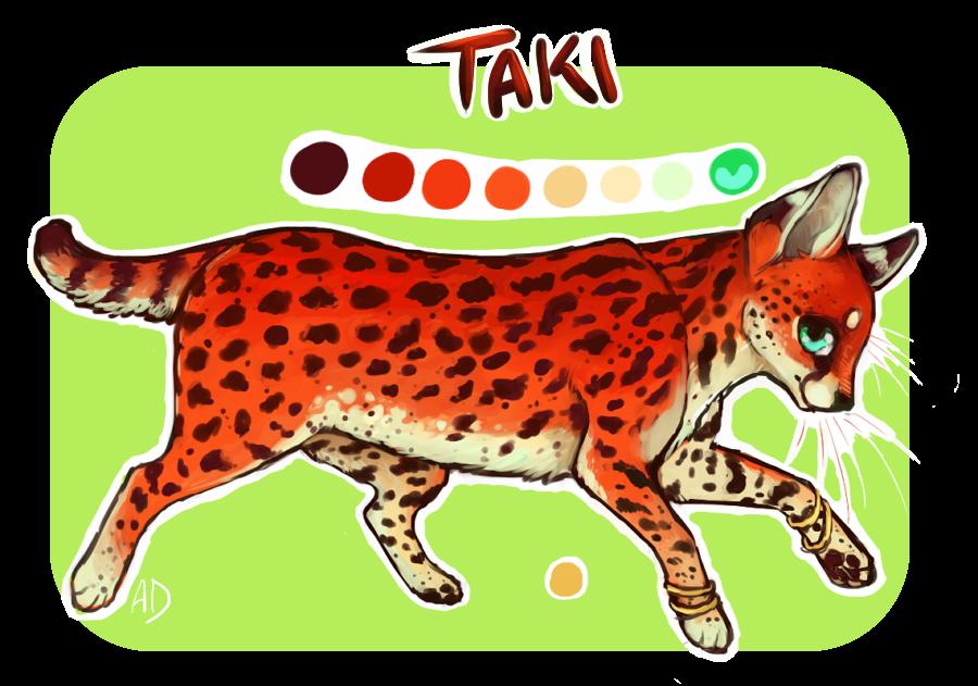 Taki the Serval by AnneDyari