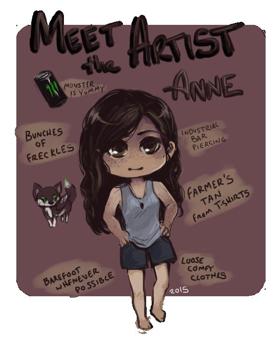 Meet the Artist: Anne by AnneDyari