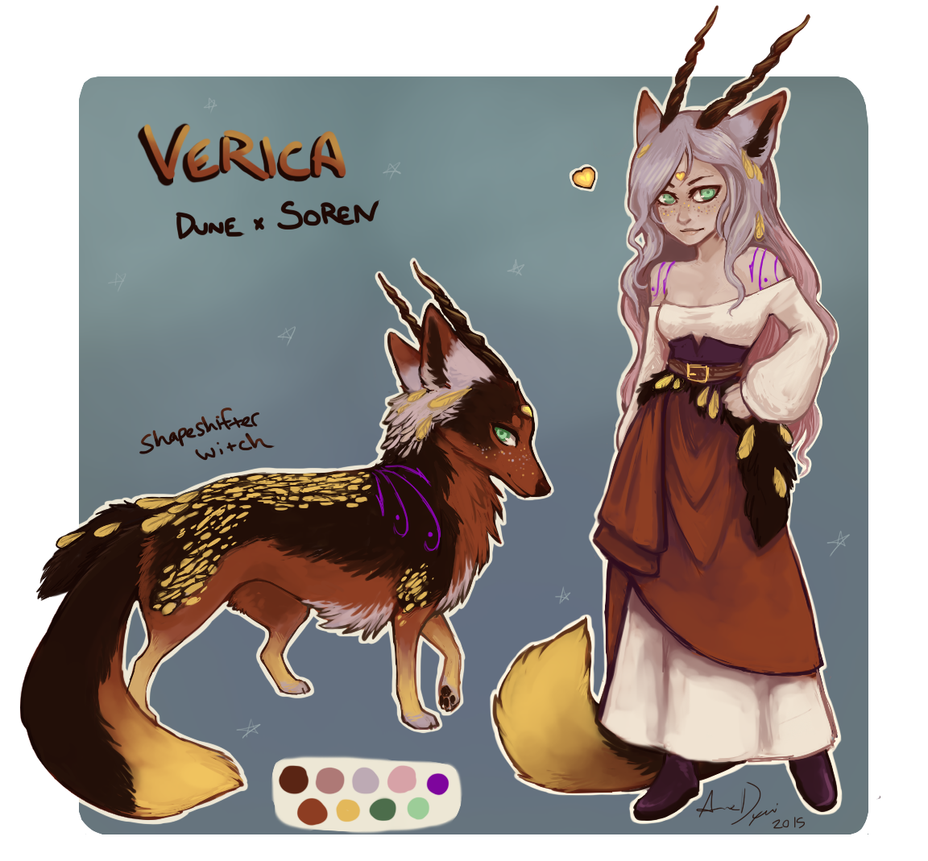 Verica the Shapeshifter by AnneDyari