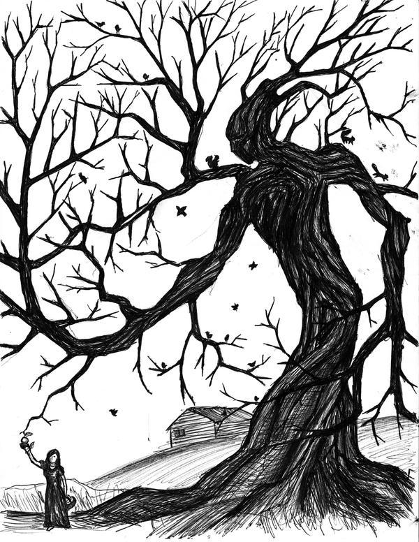 Tree man by vadimkish