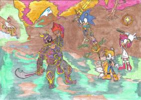 Sonic Epico by yomallamoralf