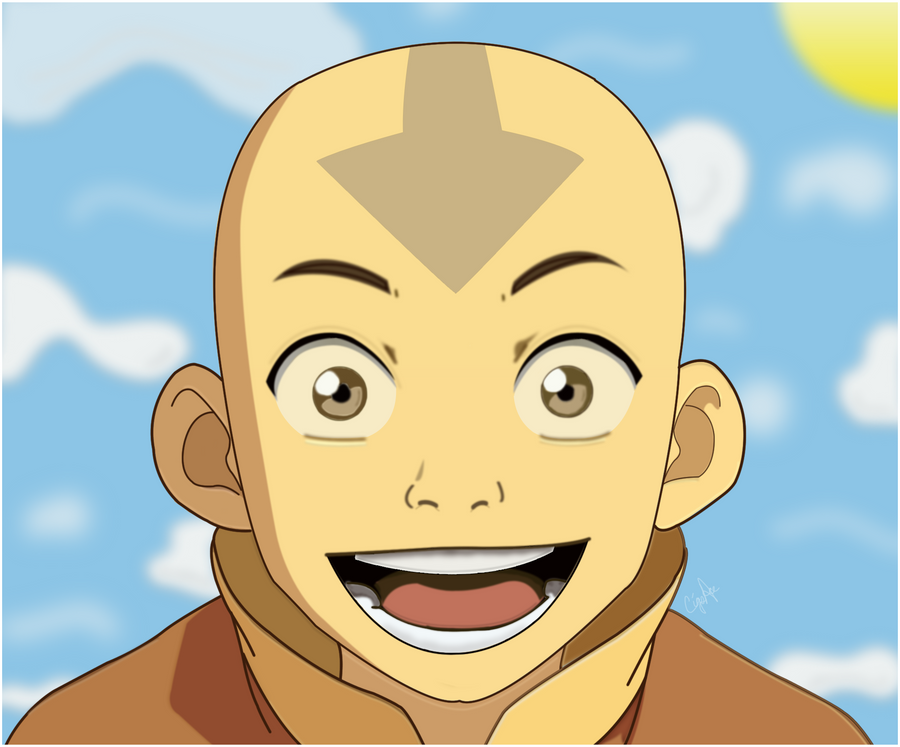 Aang The Last Airbender by CigsAce