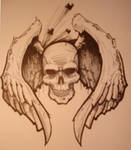 Dying Skull