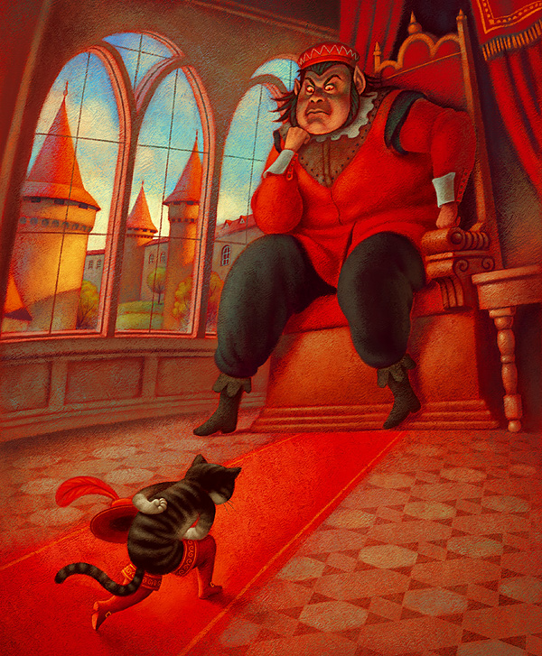 the cat and the ogre by Aguaplano