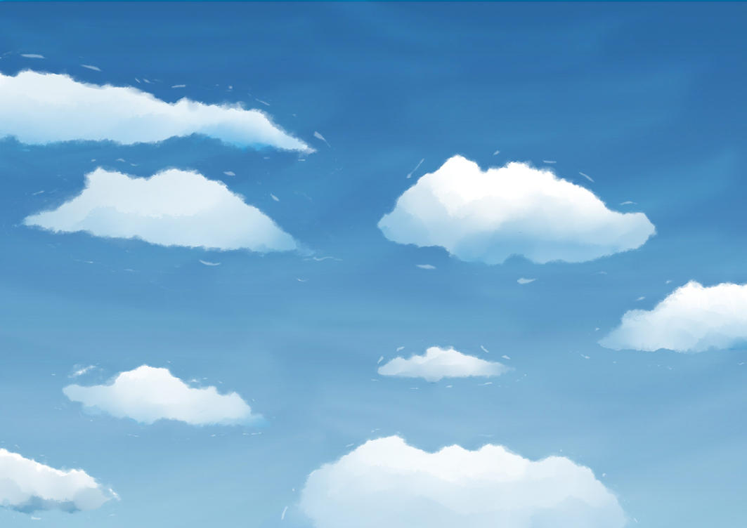 Clouds paint by colorsark on deviantart