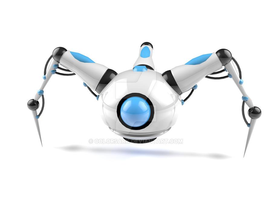 Robot Spider by Colorsark on DeviantArt