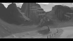 Landscape Sketch #08
