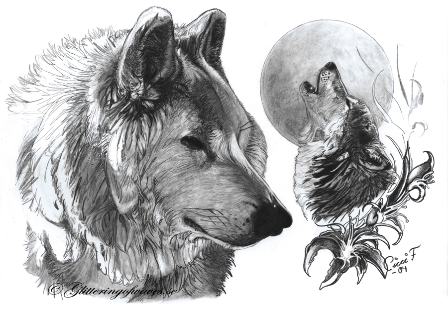 Wolves by WaveGlistening