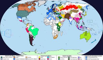 World Map (2070) by AnalyticalEngine