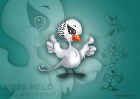 Mascot bird by hirix