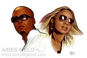 Nelson Freitas And Chelsy Chantel by hirix