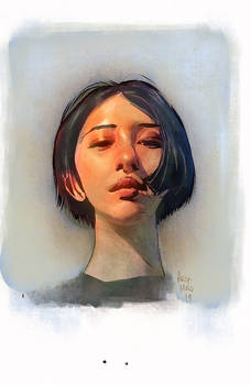 Girl study by Aires Melo