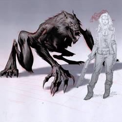 Werewolf Design By Aires Melo