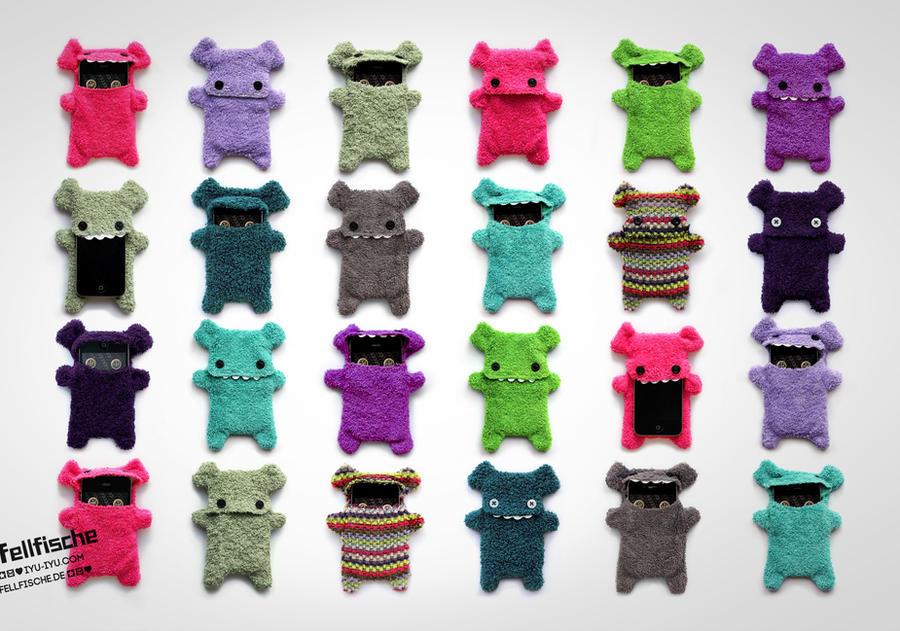Fellfische Handmade Cellphone Cases by IYU-IYU