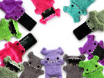 Fellfische Cellphone Gadget Cases Teeth Edition by IYU-IYU