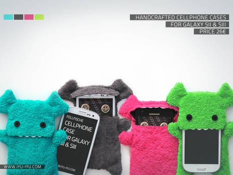 Fellfische Cases For Samsung Galaxy S2 + S3