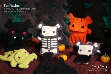 Fellfische Cellphone Cases Halloween Edition 2012