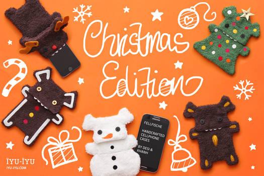 Fellfische Cellphone Cases Christmas Edition