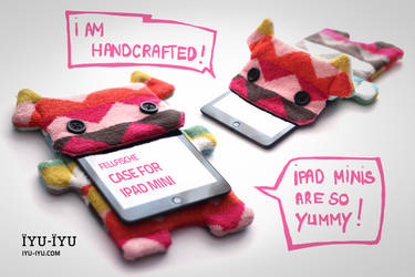 Fellfische Handcrafted Monster Case For iPad Mini by IYU-IYU