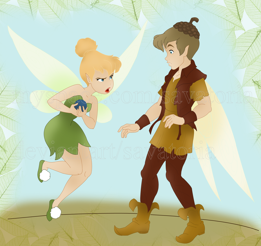Tinkerbell and Terence by Savatoria pngTinkerbell And Terence