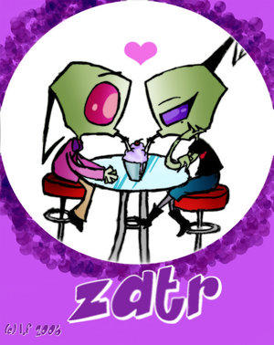invader zim rocks i toatly love tak and i love zim and tak romance    Zim And Tak Romance