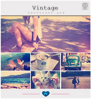 Vintage Effect - Photoshop ATN by friabrisa