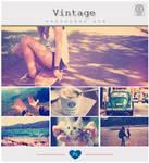 Vintage Effect - Photoshop ATN