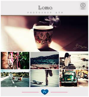 Lomo-Effect - Photoshop ATN