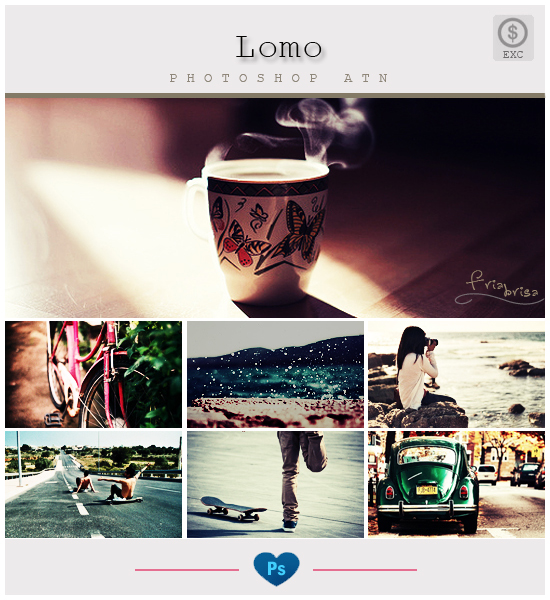 Lomo-Effect - Photoshop ATN by friabrisa