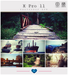 Instagram X Pro ll - Photoshop Action