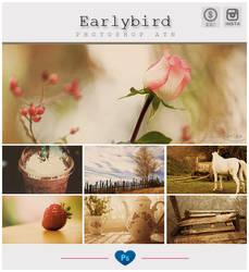 Instagram Earlybird Photoshop Action