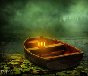 Lake And Lantern by praveengurukulam