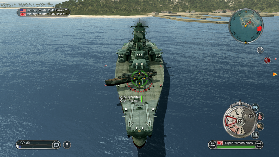 Battlestations Pacific Super Yamato glitch 1 by KoKoaLover1