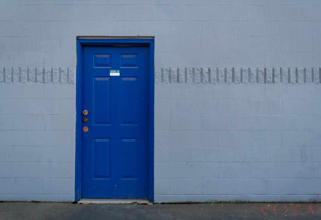 blue door by Dxyner ... & blue door by Dxyner on DeviantArt