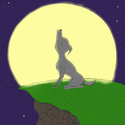 Howling to the Moon by LuLuGamz
