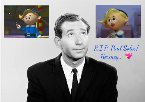 R.I.P. Paul Soles/Hermey...