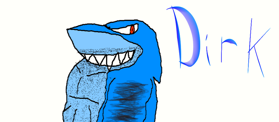 Dirk the Shark by SonicFreak4455