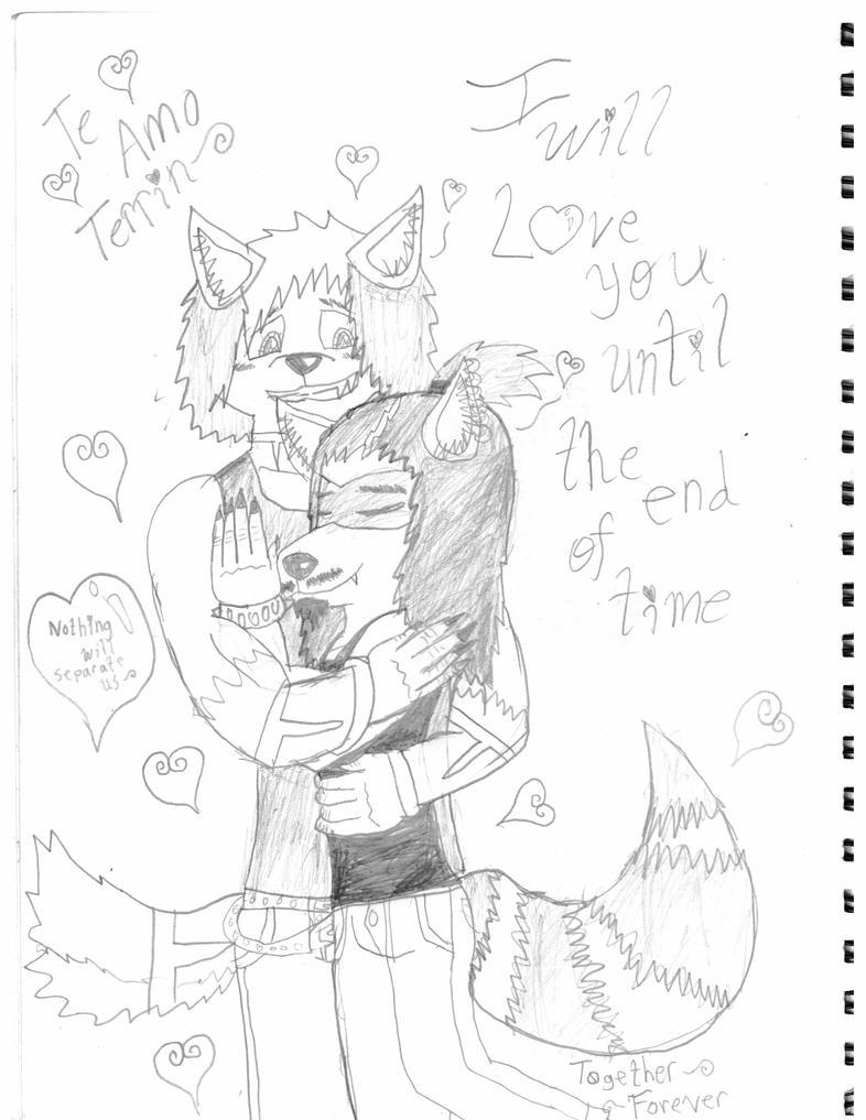 Te amo mi lobo grande y fuerte~ by SonicFreak4455