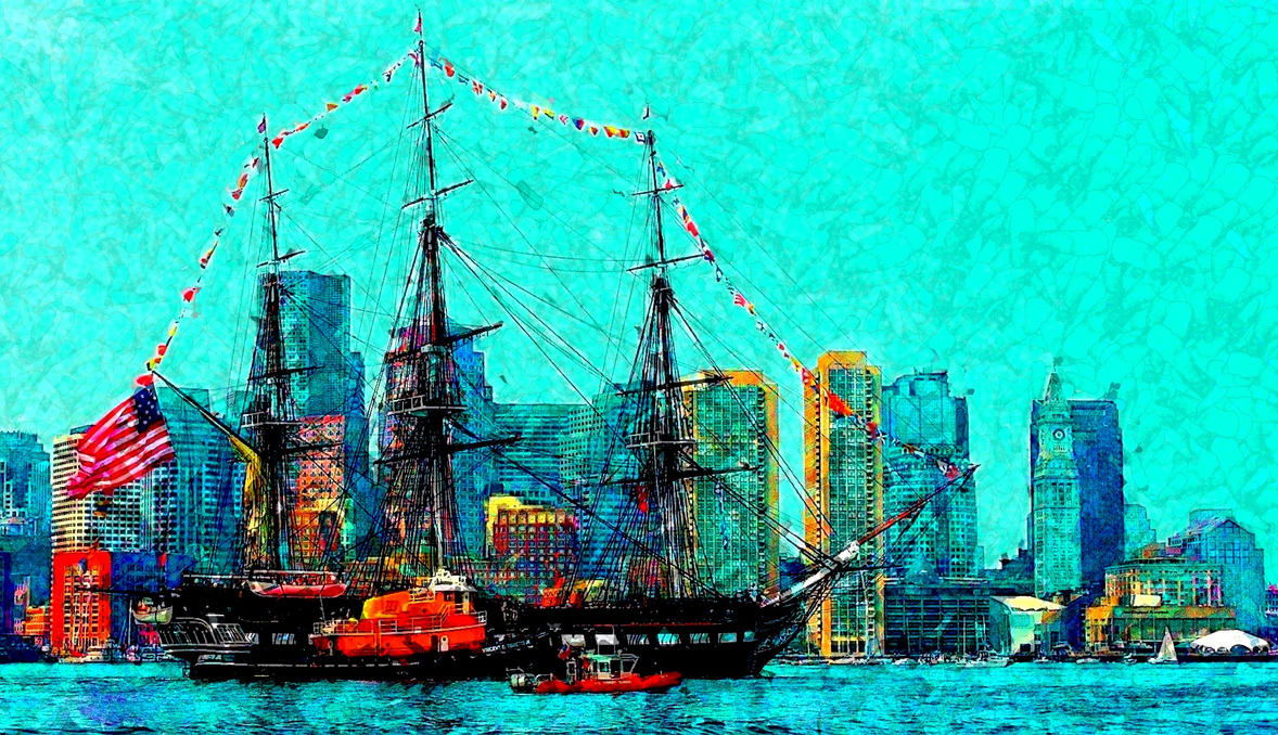 USS Constitution by vin113