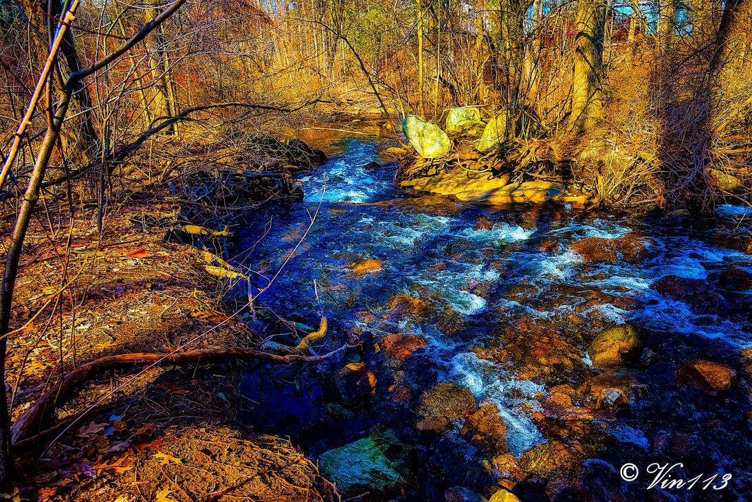 Down stream by vin113
