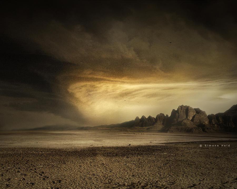 Desert Moon by simoneheld