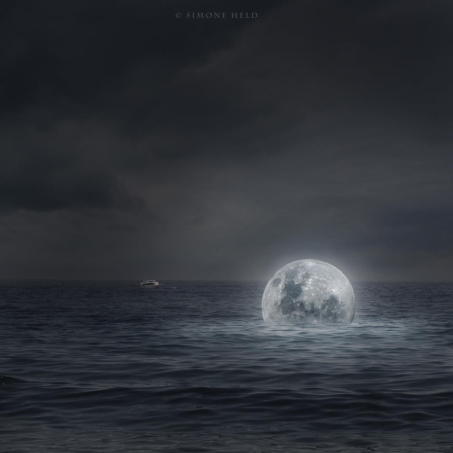 Drowned Moon by simoneheld