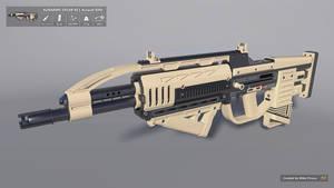 [SketchUp] AURARMS SPEAR-XE1 Assault Rifle